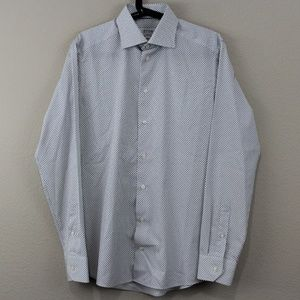 Eton Brighton Slim Fit Button Up Dress Shirt G333
